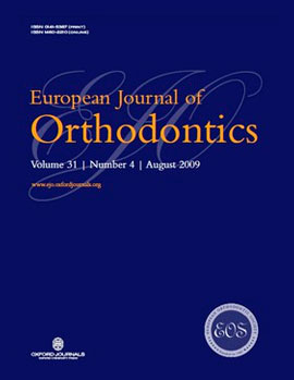 Media Appearances: EUROPEAN JOURNAL OF ORHTODOCTICS